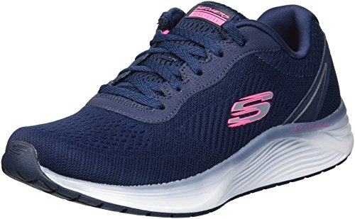 Skechers Women's Skyline-Blaze by Navy Sneakers