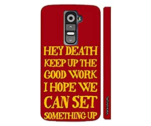 LG G2 Mini Message to Death designer mobile hard shell case by Enthopia
