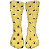 Bumblebee Women & Men Socks Knee High Long Soccer Sport Tube Stockings Length 30cm
