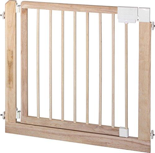 IB-Style – Treppengitter / Türgitter KOLBY M | 3 Größen | 86 – 92 cm | aus massivem Holz – Natur - 4