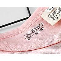 Sello Marcador Ropa Niños Personalizado, Marcador Ropa y Libros, Marcador Mine, Elige entre 9 diseños exclusivos personalizables