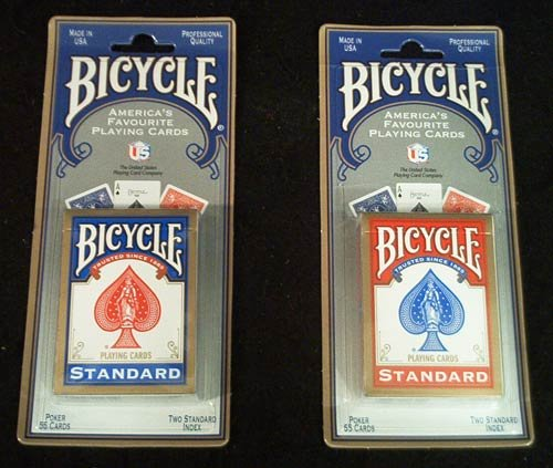 1-x-2-new-sealed-decks-of-bicycle-playing-cards-1-red-1-blue