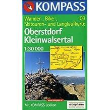Oberstdorf / Kleinwalsertal 1 : 30 000. Wander-, Radtouren-, Skitouren- und Langlaufkarte