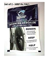 Lygienic Advanced Descaler (Set of 2) Washing Machine Deep Cleaner Powder by eGalaxy Traders