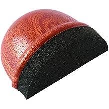 Brinox B90110Z - Tope madera silencioso adhesivo, 2,5 x 4,8 x 3,7 cm, color sapeli