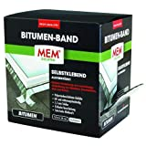 MEM 500492 Profi Bitumen Band Box 10cmx7,5m alu