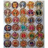 VARNI CREATION Ladoo Gopal Poshak (Set) for Small Gopal Assorted Color and Design (10)