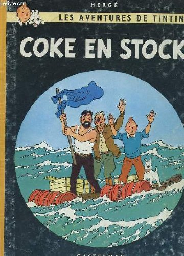Les aventures de tintin, coke en stock