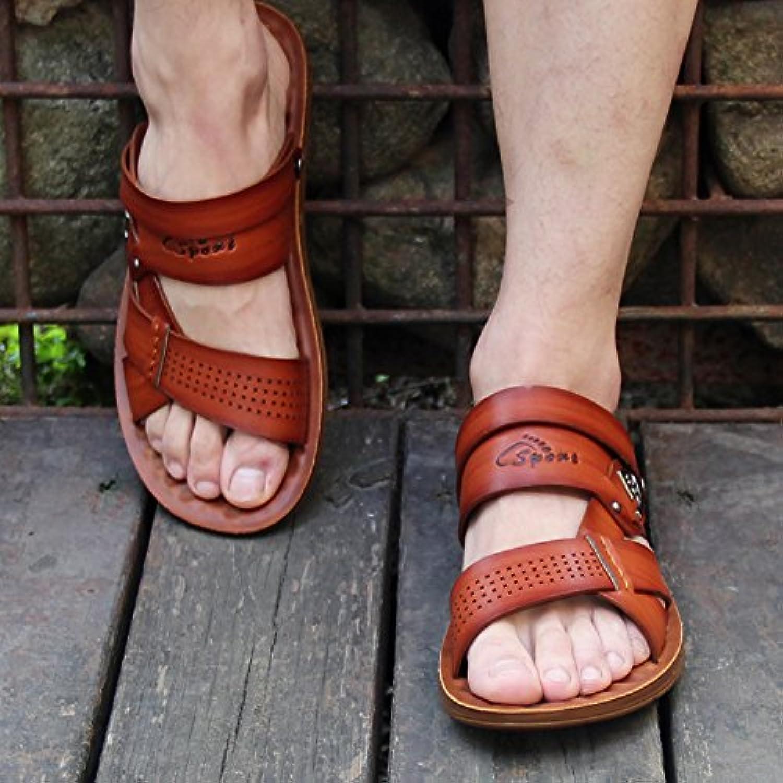 ZHANGJIA estate Skid pantofole, pantofole, pantofole, sandali uomo, dual-purpose casual spiaggia scarpe pantofole da uomo, sandali,38... | Online Store  | Uomini/Donna Scarpa  591a21