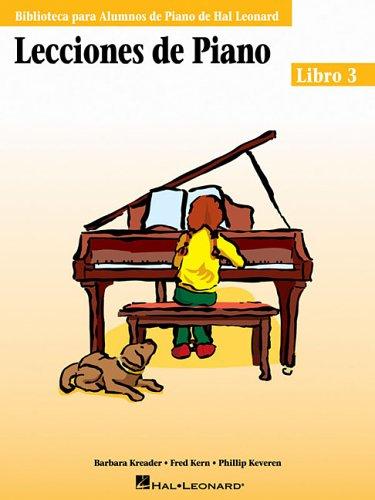 Hal Leonard Student Piano Library: Lecciones De Piano - Libro 3 por Barbara Kreader