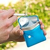 Taschenaschenbecher, tragbarer Mini-Taschen-Aschenbecher
