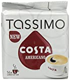 Product Image of TASSIMO Costa Americano 16 T DISCs (Pack of 5, Total 80 T...