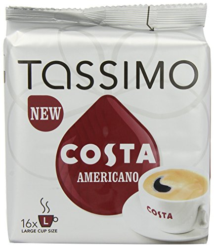 Product Image of TASSIMO Costa Americano 16 T DISCs (Pack of 5, Total 80 T DISCs/pods)