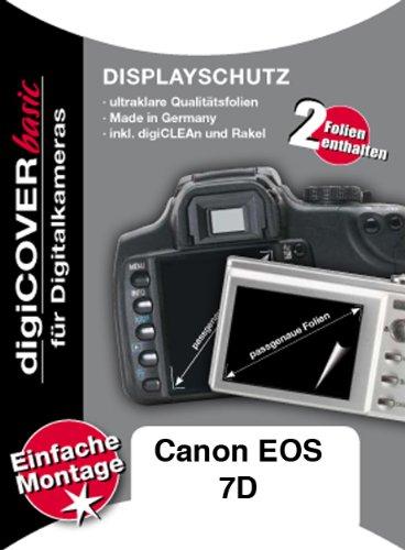 digiCOVER Displayschutz Basic Canon EOS 7D