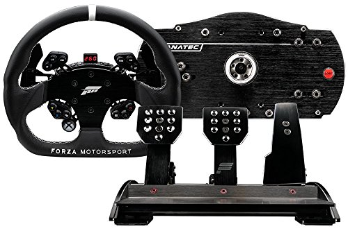 fanatec csl elite Fanatec Forza Motorsport Racing Wheel und Pedale Komplettset für Xbox One und PC
