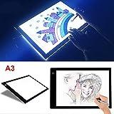 Espesor 8mm LED Caja de luz de Trazado Tablero Plantilla de Dibujo Almohadilla de Luz para Diseño...