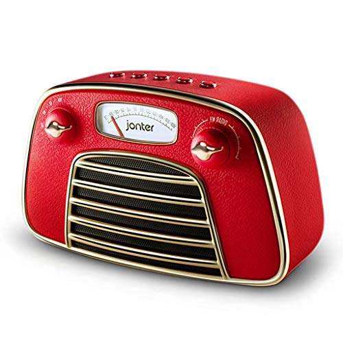 TK-Speaker Drahtloser Bluetooth Lautsprecher Beweglicher Drahtloser Bluetooth Lautsprecher Retro Radio Extralanges Spiel Subwoofer