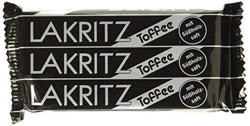 Lakritz-Toffee Kaubonbons mit Süßholzsaft | Dragées mit Lakritz-Geschmack von Van Melle | 5 x 3er Pack