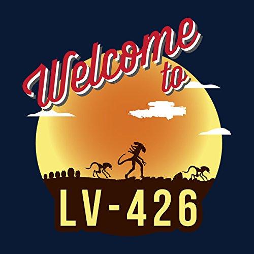 Welcome To LV 426 Alien Women's Vest Navy Blue