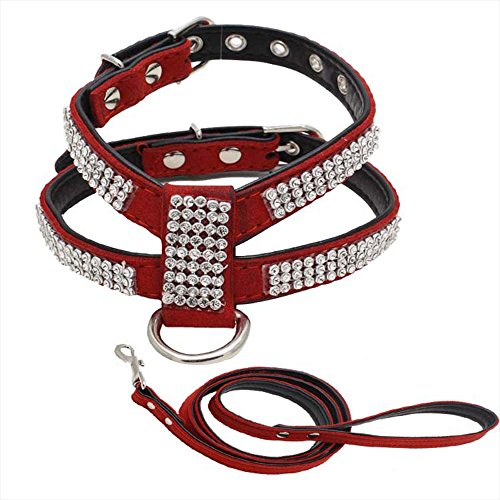 alxcio-pet-puppy-cat-dog-collar-adjustable-harness-chest-strap-belt-with-diamonds-easy-fit-durable-p