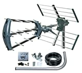 Best Digital Antenna Outdoors - TriStar Digital TV Aerial Compact Tri-Fold Easy Assembly Review