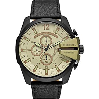 Diesel Mega Chief Analog Green Dial Men's Watch-DZ4495