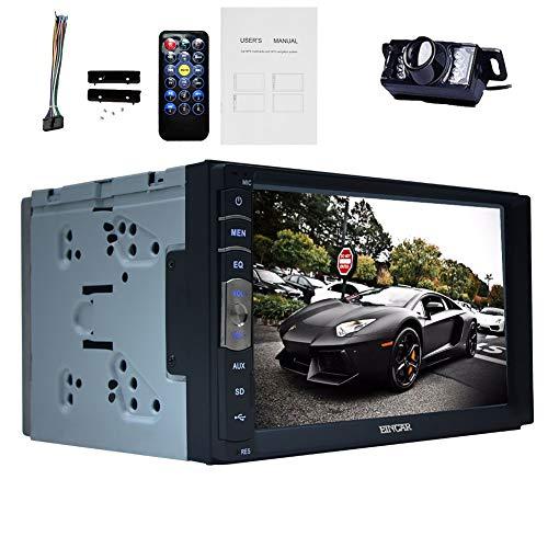 EINCAR Linux-System kapazitive Multi Punkte Touch Screen 1080P Video Doppel-DIN 7 Zoll Auto-Video-Player Stereo MP3-System Radio-DVD Bluetooth Autoradio USB/SD In Dash-Hauptgeräten eingebauten 1080p Multi-system