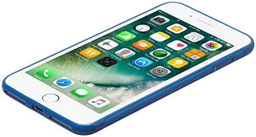 AmazonBasics - Strukturierte Schutzhülle für iPhone 8 / 7, Blau Blau