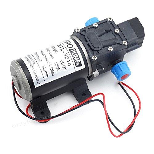 Labellevie DC12V 8L/m Wasserpumpe Automatische Hochdruck -Membran für Wohnmobile / Wohnwagen / Boot