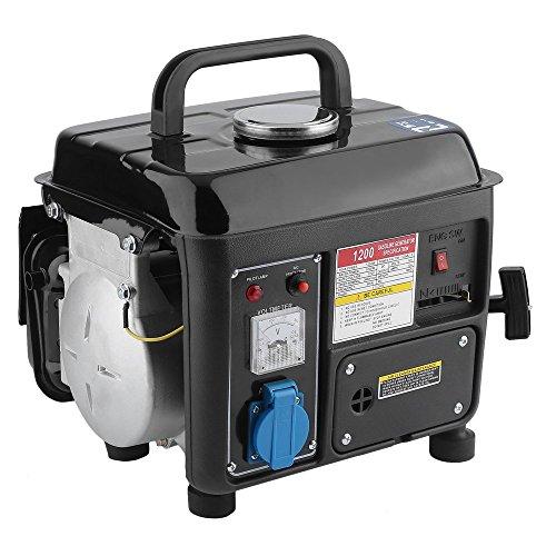 Tragbarer 1200W Stromerzeuger Inverter Gas Schlag Elektrischer Benzin Generator