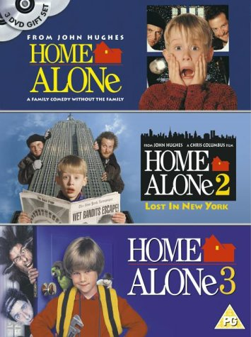 Home Alone/Home Alone 2/Home Alone 3 [UK Import]