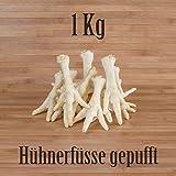 1 Kg Hühnerfüße gepufft mit Honig - wie Schweinenase Honignase Kauartikel Kausnack