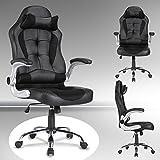 UEnjoy Gaming Stuhl Racing Stuhl Leder Bürostuhl Chefsessel Schreibtischstuhl mit