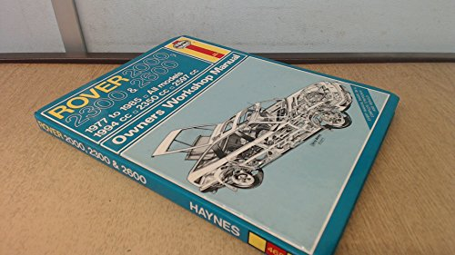 Rover 2000, 2300 and 2600 1977-85 Owner's Workshop Manual