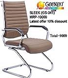 #10: visitor chair,Sleek-3 (GS-341),