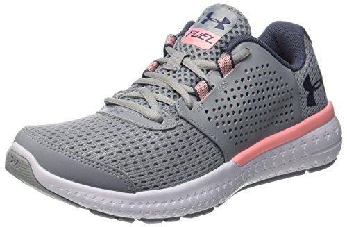 Under Armour Women's Ua W Micro G Fuel Rn Training Shoes,Grey (Overcast Gray),5 UK(38.5 EU)