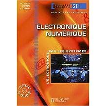 Electronique, terminale STI génie électronique 1, Numérique : Livre de l'élève