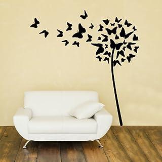 Adesivi Creativi Wall Sticker Soffione di farfalle Sticker adhesive for walls, wall decoration Dimensions 94 X 100 cm