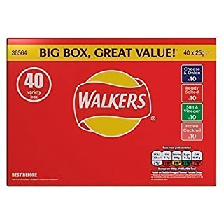 Walkers Crisps Variety Box 40 Packs (B012WTZF2Y) | Amazon price tracker / tracking, Amazon price history charts, Amazon price watches, Amazon price drop alerts