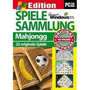 Spielesammlung Mahjongg. CD-ROM für Windows 95 / 98 / ME / XP. 25 originale Spiele / 2. Edition 2003.