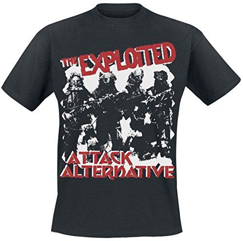 The Exploited Attack T-Shirt schwarz Schwarz