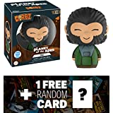 Zira (Only 5000 PCS Made): Funko Dorbz X Planet Of The Ape Vinyl Figure + 1 FREE Classic Sci-fi & Horror Movies Trading Card Bundle (13824)