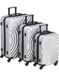 Pack Easy Luggage Sets  307SI Silver 96.0 liters