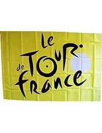 Drapeau Flag - Collection officielle - Tour de France Cyclisme Velo - Maillot Jaune - Taille 140 x 100 cm