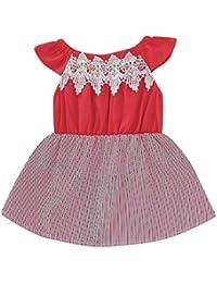 eba6127f1212 Amazon.it  Rosso - Completini e coordinati   Bambino 0-24  Abbigliamento