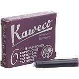 Kaweco Fountain Pen ink cartridge short violet - pack of 6