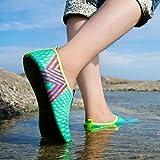 Kaiki Boys Girls Mens Womens Quick-Dry Surf Aqua Shoes Beach Swim Water Shoes Wetsuit Socks Yoga Exercise Shoes (Blue, 41/42)