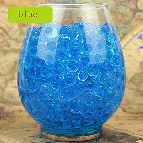 Bolas de Burbujas para Juguetes decoración, Relleno de Orbeez, Relleno de florero, Suelo, decoración de Plantas, Plantas de bambú (Azul),Paquete de 100 PCS