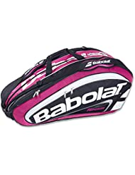 Babolat Team Racket Holder X12 pink Sac raquettes de tennis
