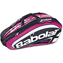 Babolat Bolsas para material Racket Holder Team Line Pink/Blk Uni